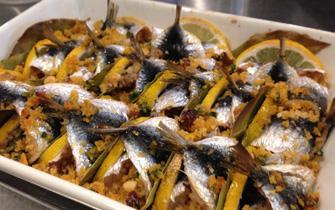 福岡市大名のイタリア料理ルーチェのバール料理