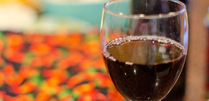 福岡市大名イタリア料理ルーチェのワイン
